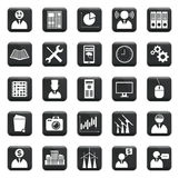 Vector Set Of Icons Royalty Free Stock Photography