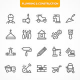 Vector set of icons. Stock Images
