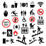 Vector set of icons Stock Image