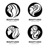 Vector set of illustration of woman Royalty Free Stock Images