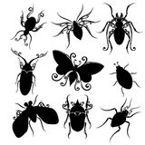 Vector Set of Insects Stock Photography