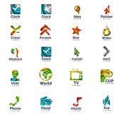 Vector set of internet logo icons Stock Photography