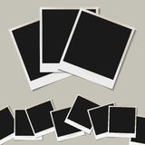 Vector set of  isolated Photo frames Royalty Free Stock Photography