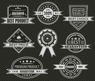 Vector set of labels Royalty Free Stock Photo