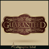 Vector set of Labels Guaranteed, Premium Quality Stock Image