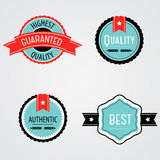 Vector Set of Labels Royalty Free Stock Image