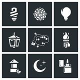 Vector Set of Lighting Icons.  Stock Photography