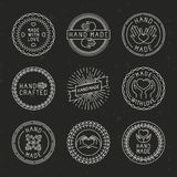 Vector set of linear badges and logo design elements Stock Image