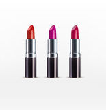 Vector set. Lipstick  on a white background Stock Photo