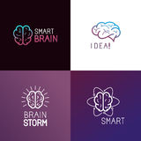 Vector set of logo design elements Stock Photography