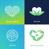 Vector set of logo design templates and badges Stock Photos