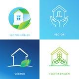 Vector set of logo design templates Royalty Free Stock Photo