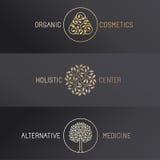 Vector set of logo design templates Royalty Free Stock Photos