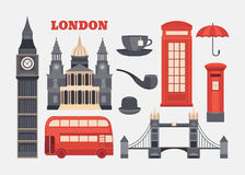 Vector set of London Stock Photography