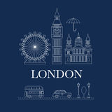 Vector set of London Stock Photos