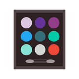 Vector set make up beauty fashion cosmetic icons Royalty Free Stock Images