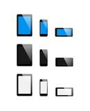 Vector set mobile Devices - Illustration Royalty Free Stock Photos