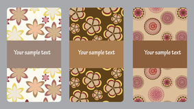 Vector set of modern beautiful Royalty Free Stock Images