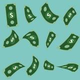 Vector set of Money.Dollar.  Royalty Free Stock Image