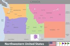 Northwestern of United States Stock Image