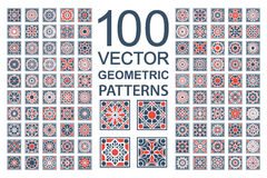 Free Vector Set Of Geometric Patterns Stock Image - 64908401