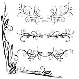 Vector set of patterns Royalty Free Stock Photography