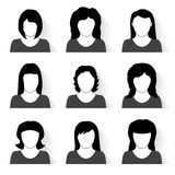 Vector set of people icons Royalty Free Stock Photos