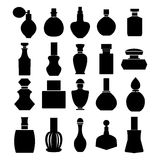 Vector set of perfume bottles - Illustration Royalty Free Stock Photography