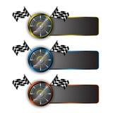 Vector set of racing emblem motorsport concept. Eps 10 vector Stock Photo