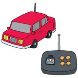 Vector set of remote control car Stock Image