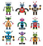vector set of robots Stock Image