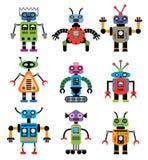 Vector set of robots Stock Image