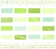 Vector set of scribble elements Stock Images