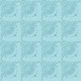 Vector set seamless floral ornament Royalty Free Stock Photography