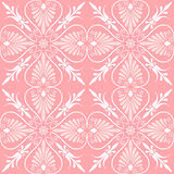 Vector set seamless floral ornament Royalty Free Stock Photo