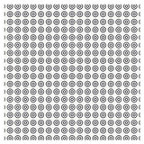Vector set Seamless pattern with dotted circles repeating texture St Stock Image