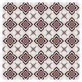 Vector set seamless pattern. Monochrome graphic design. Stock Photography