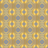 Vector set of seamless patterns in art deco vintage style Stock Photo