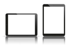 Vector Set 2 Tablets Stock Photos