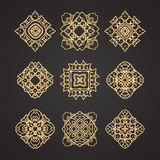 Vector set of thai art design Royalty Free Stock Image