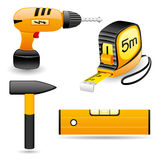Vector set. Tools. Royalty Free Stock Photography