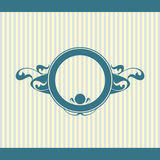 Vector set of vintage framed labels 0015 Royalty Free Stock Photography