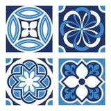 Set of Vintage Ornamental Patterns. Vector Set of Vintage Ornamental Pattern Tiles Royalty Free Stock Photography