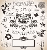 Vector set in vintage style for You Stock Photos
