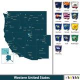 Western United States Royalty Free Stock Photos