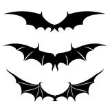 Vector set. Wings. Royalty Free Stock Photo