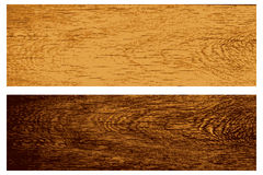 Vector set of wooden banners Royalty Free Stock Image