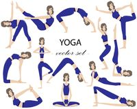 wellness relaxation and yoga icon set vector stock