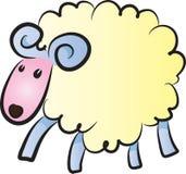 Vector sheep Royalty Free Stock Photos