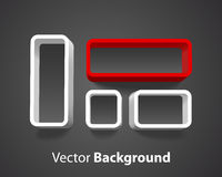 Vector shelf background Stock Photography
